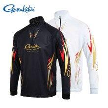 2018 summer season New Gamakatsu Clothes Garments Lengthy Sleeve Fast Dry Fishing Clothes Anti-UV Sunscreen Fishing Vests Camisas