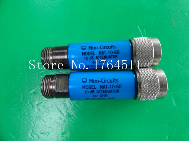 [BELLA] MINI NAT-10-60 DC-6GHz 10dB 2W N Coaxial Fixed Attenuator  --2PCS/LOT