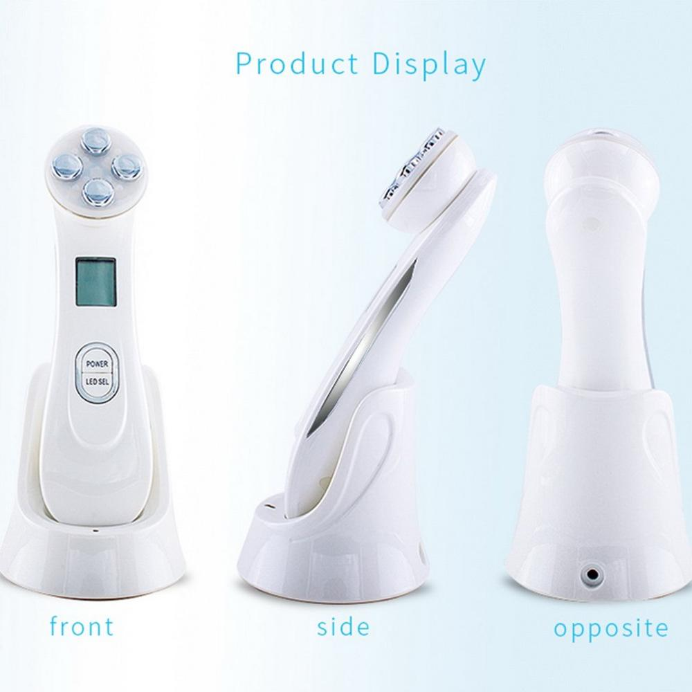 Home use RF radio frequency Face lift beauty instrument Needleless EMS Rhytidectomy facial beauty equipment Anti wrinkle in Face Skin Care Tools from Beauty Health