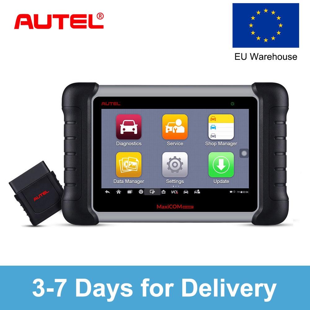 Autel Autel MaxiCOM MK808BT OBD2 Auto Scanner Diagnostic Tool EOBD Car Diagnostic Automotivo Scanner Better than Launch X431