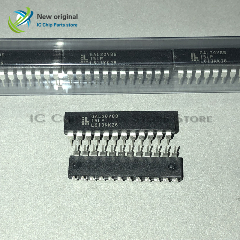 10/PCS GAL20V8B-15LP GAL20V8B DIP24 Integrated IC Chip New Original