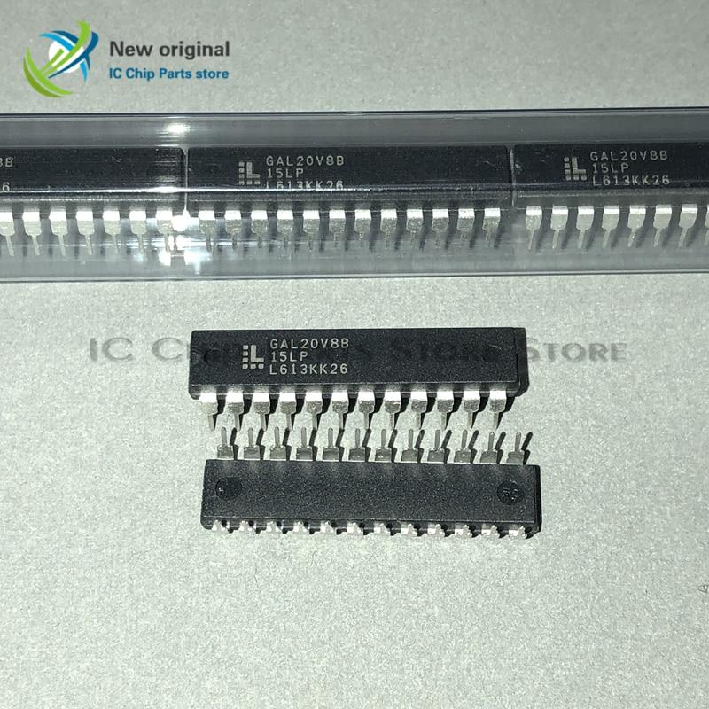 10/PCS GAL20V8B-15LP GAL20V8B DIP24 Integrated IC Chip New Original