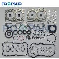 EJ20 Reconstruir Junta Do Motor Completo Conjunto 2.0X 10105AA990 Para SUBARU Forester SG 2006 2007 SH 2.0X/XS 2008  2010|Kits p/ reconstrução do motor|Automóveis e motos -
