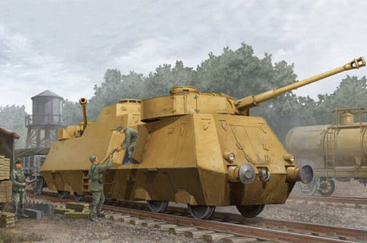 Trumpeter 1/35 PanzerJager Triebwagen 51 # 01516 Plastic Model Kit