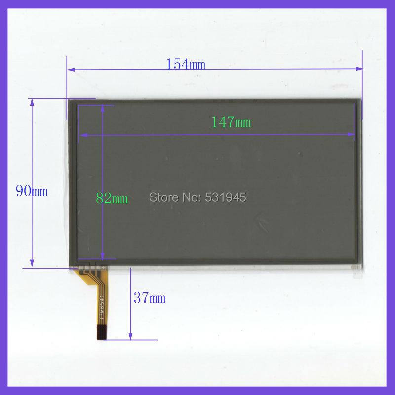 ZhiYuSun 6.5 inch  4line  touch screens  on car GPS  154mm*90mm  on display   154*90 lc150x01 sl01 lc150x01 sl 01 lcd display screens