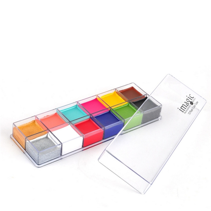 12 Färg Ögonskugga Lip Palette Professional Makeup Palette - Smink - Foto 2