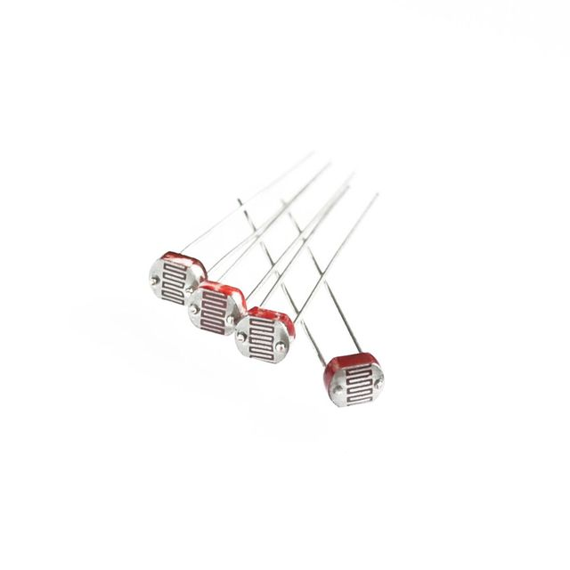 500 x 5528 Light Dependent Resistor LDR 5MM Photoresistor wholesale ...