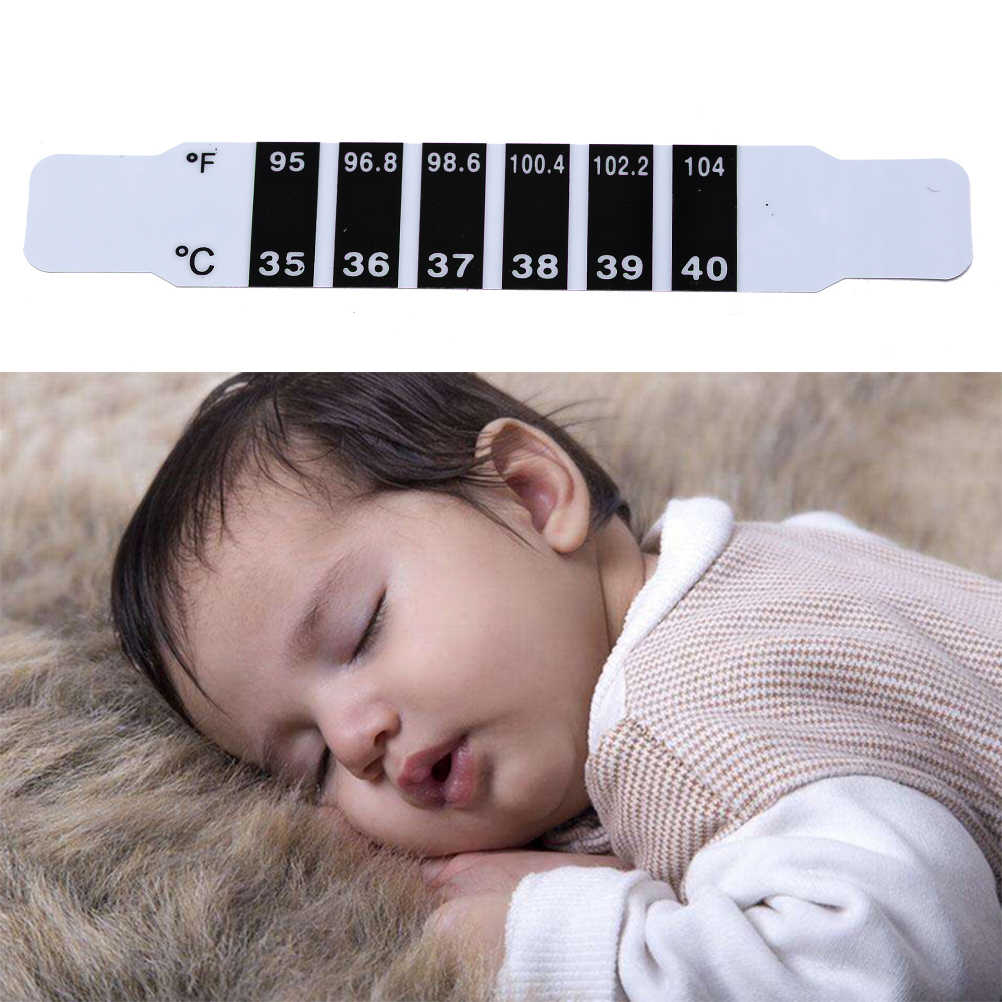 Baby Thermometer Reusable Flexible Toddler Forehead Care Health Monitors Kids Fever Body Test Temperature Termometro 2 PCS