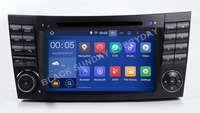 Android 8 0 Two Din 7 Inch Car DVD Player Stereo System For E Class W211