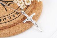 Рокси отпуск подарок новая мода ювелирные изделия цвет заявление иисус крест ожерелье женщин свадьбу бесплатная доставка