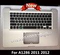 """Новый Топ чехол Для Macbook Pro 15.4 """"A1286 Ноутбук Упор Для Рук Topcase С США Клавиатуры Без Сенсорной Панели 2011 MC721 MC723 MD318 MD322"""