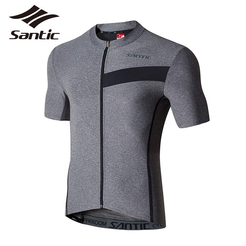SANTIC Men Cycling Jerseys Summer Bike Jersey Short Sleeve Motocross Shirt Cycling Base Layer Clothing Ciclismo Ropa Hombre Tops 2017 spring summer cycling jersey women long sleeve mountain biking jerseys shirt outdoor sports clothing ropa ciclismo santic