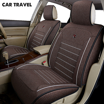 CAR TRAVEL flax car seat cover for subaru forester impreza subaru xv auto accessories car-styling car seat protector