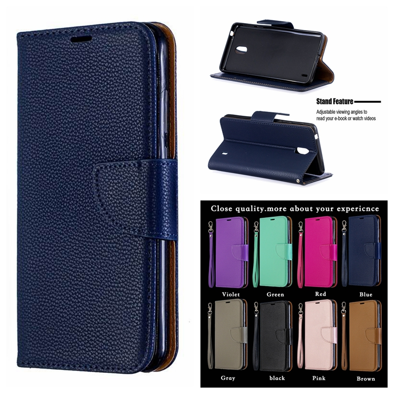 Case on for <font><b>Nokia</b></font> 1 Plus 2019 Case Cover for <font><b>Nokia</b></font> 1 Plus <font><b>TA</b></font>-<font><b>1130</b></font> <font><b>TA</b></font>-1111 <font><b>TA</b></font>-1123 Fashion Flip Wallet Leather Phone Cases Coque image