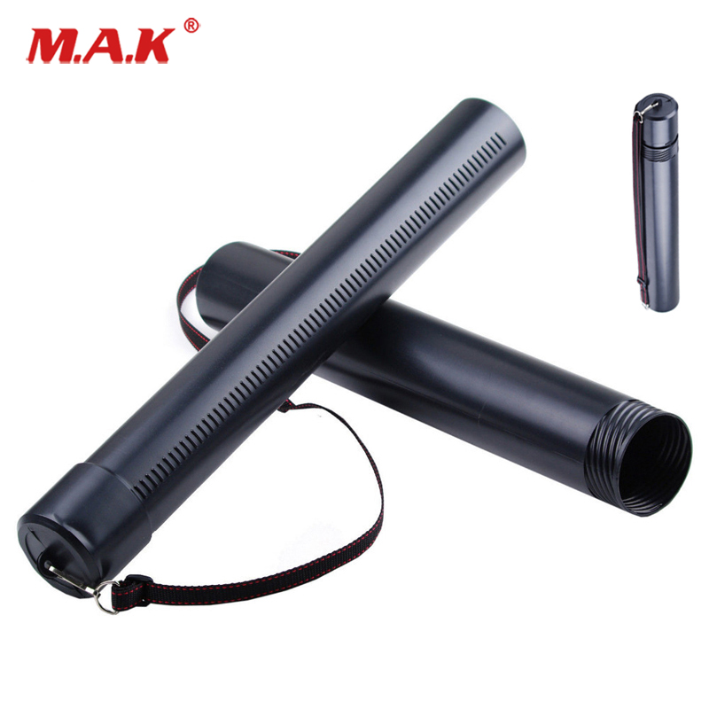 Adjustable 50-90cm Black Pvc Arrow Quiver Arrow Holder Tube Diameter 7cm Storage Bag Accessories Fit Outdoor Hunting
