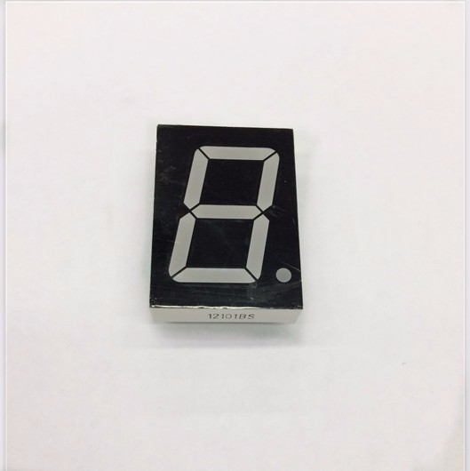 Free Shipping 100pc 1Bit Digital Tube 7 Segment Display 1.2 Inch Display Red Factory Price