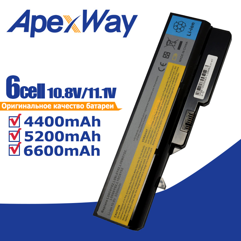 11.1v Laptop Battery For Lenovo IdeaPad G460 G560 V360 L09m6y02 B470 G460A G560 Z460 Z465 Z560 Z565 Z570 LO9S6Y02 LO9L6Y02
