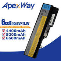Replacement Laptop Battery For LENOVO IdeaPad G460 G465 G470 G475 G560 G565  G570 G575 G770 Z460 L09M6Y02 L10M6F21 L09S6Y02