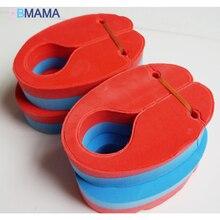 Alta calidad gran flotabilidad 4 tabletas sin niños inflables nadar anillo flotante del anillo del brazo del brazo ejercicio puede superponer EVA circ