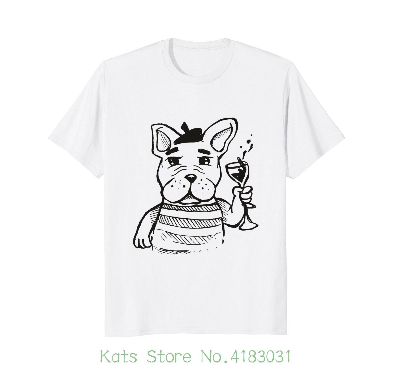 Французский бульдог классная футболка Frenchie футболка Рубашка с короткими рукавами хлопковая модная футболка Бесплатная доставка