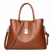 Luxury Fashion Casual Boston Totes Bags Handbags Women Famous Brands PU Leather Brown Vintage Bag Female Shoulder Bag For Ladies стоимость