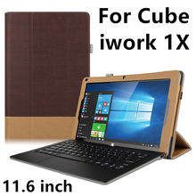 Case para cube iwork 1x funda protectora cubierta elegante protector de la tableta de cuero PC Para El CUBO Iwork 1 X PU Manga 11.6 pulgadas Casos cubierta