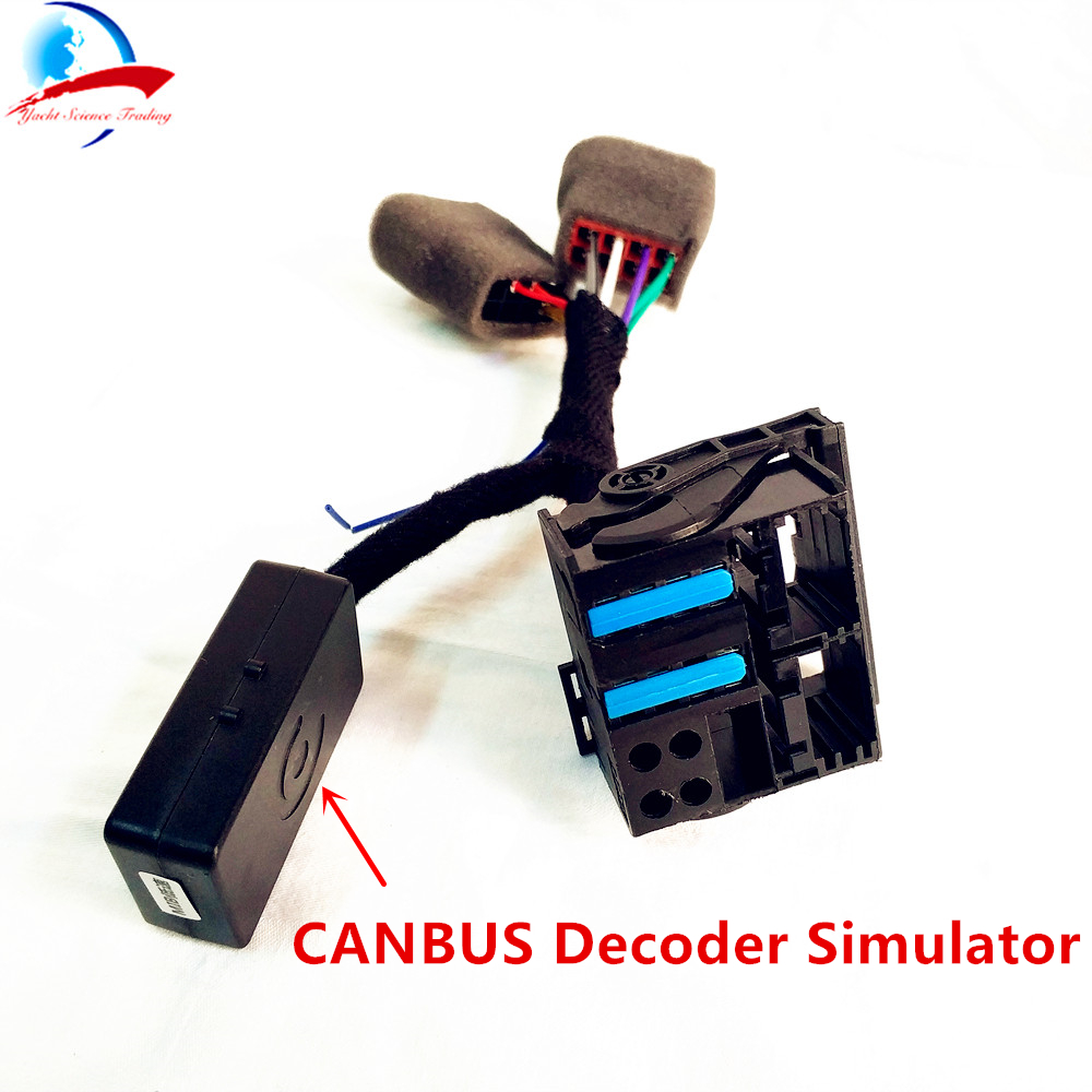 Pq35 46 Car Rcd330 Plus Plugplay Iso Quadlock Adapter Cable With Vw Can Bus Decoder Wiring Diagram Canbus Simulator For Golf Vi Jetta 5 6 Mk5 Mk6 Passat In Cables