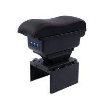 Для новых nissan micra подлокотник коробка центральный магазин содержание коробка с подстаканником пепельница Новый micra 2017 k14