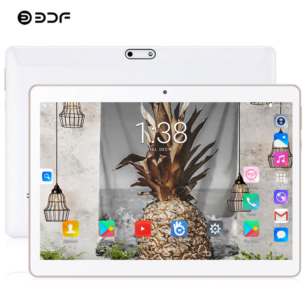 2020 New Tablet Pc 10 Inch Android 9.0 Tablets 8GB+128GB 10/Ten Core 3G/4G LTE Phone Call IPS Pc Tablet WiFi 10.1 Inch Tablets