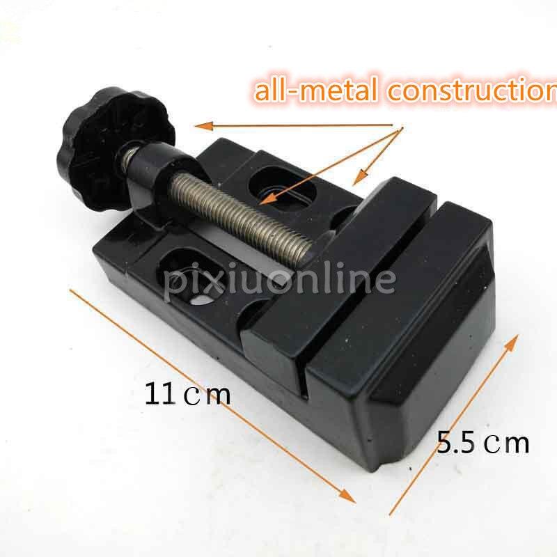 1pc J175 Mini All-metal Bench Vice Clamp Tool Flat Tongs 11*5.5cm DIY Process Tools Free Shipping Russia