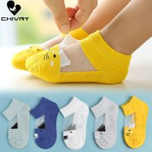 5Pairs/lot Infant Baby Socks Summer Mesh Thin for Girls Cotton Newborn Boy Toddler Accessories