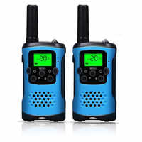 2Pcs Two Way Radio Kids Walkie Talkie for Motorola Mini children's outdoor self driving walkie talkie Gadget up to 6km