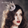 bride hair jewelry girls small Crowns rhinestone tiaras Korean bride children's gifts princess crowns tiaras