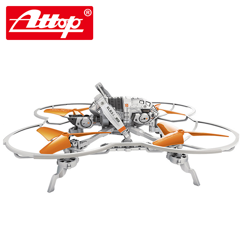 Attop IDR901C Official authorization of the independence day Four - axis aircraft that can be photographed Parent-child toys youdi 2 4g remote sensing four aircraft genuine four rotor helicopter toys wholesale shatterproof