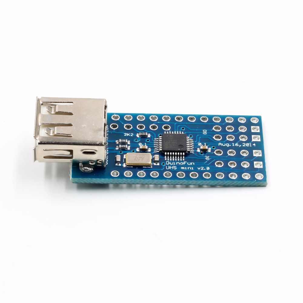 Mini Suporte Do Google ADK USB Host Escudo Para Arduino UNO MEGA Duemilanove Módulo Placa de Expansão Placa de Interface SPI