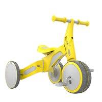 Ребенок деформируемая игрушка вагонетки с противовесом Tricycle2 в 1 для верховой езды и раздвижные двойной режим деформируемая игрушка двойно...