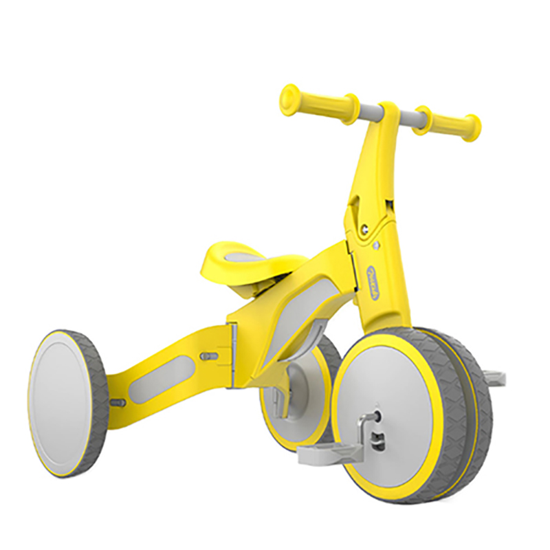 Enfant déformable équilibre voiture Tricycle2 en 1 équitation et glissement double Mode déformable double Mode vélo pour bébé balade en plein air sur jouets