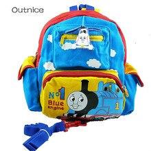 Thomas und seine Freunde Zug Kindergarten Schultaschen Anime Kleinkind Rucksack anti-verlorene Bookbag Kinder Baby Arm Tasche für Mädchen und Jungen