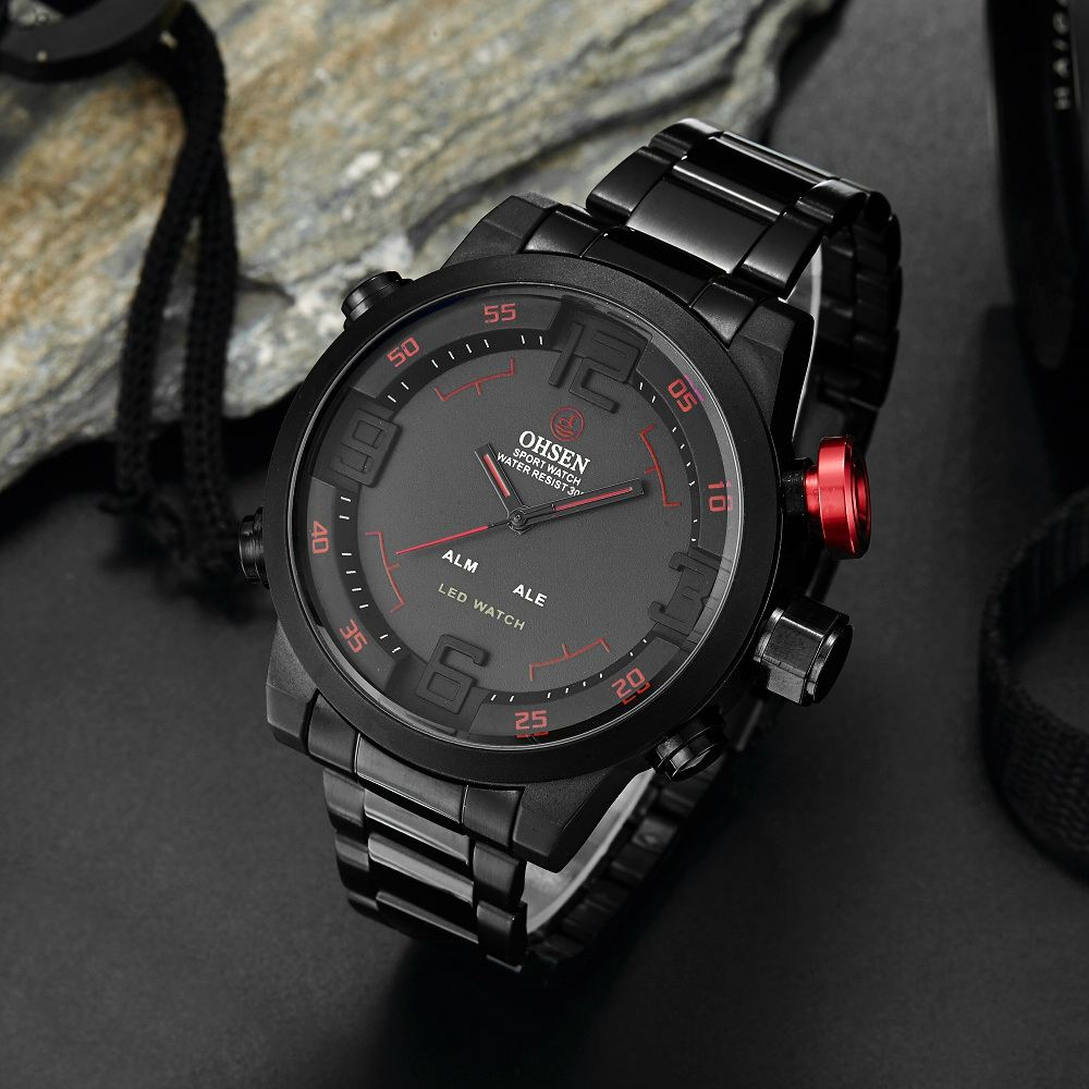Original OHSEN Digital Quartz Watch 1