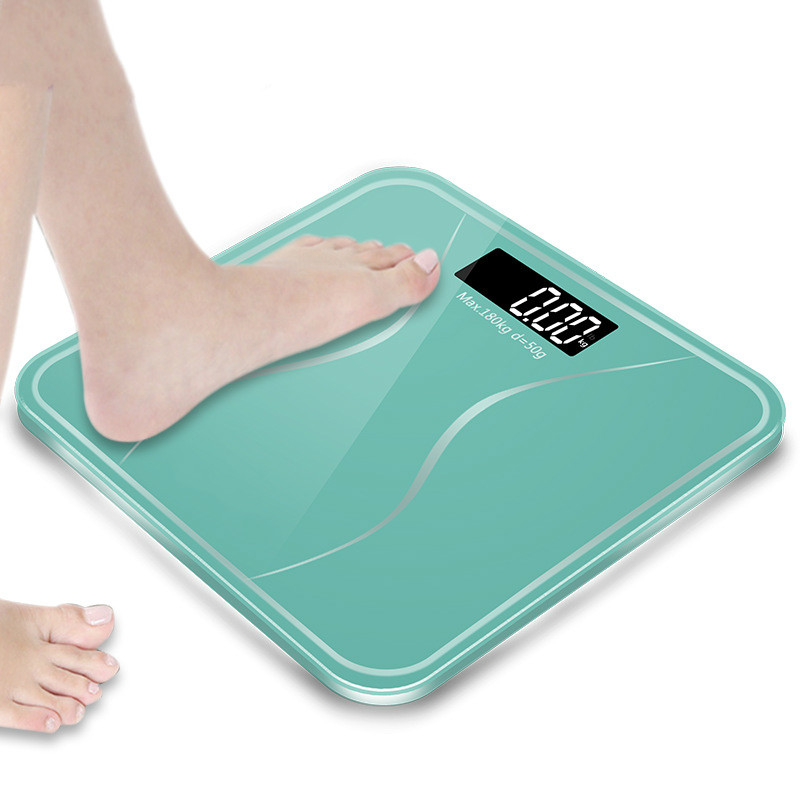 2017 New Arrival Bathroom Body Scales Glass Smart Household Electronic Digital Floor Weight Balance Bariatric LCD Display
