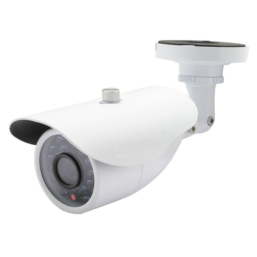 Aluminum Metal Waterproof Outdoor Bullet IP Camera 960P Security Camera CCTV 24PCS ARRAY LED Board ONVIF Camera IP
