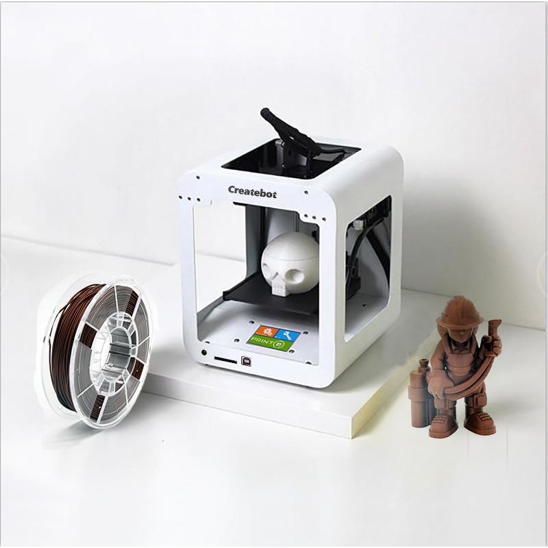 Createbot Colourful Tremendous Mini 3D Printer Contact Display screen Metallic Case Excessive Precision 3D Printer 3D Drucker Impresora 3D