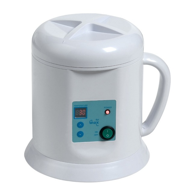 1000ml LCD Wax Machine Kettle Type Women Skin Protection Beauty Device Metal High Quality LCD Screen Free Shipping