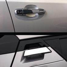 2016 2017 для Toyota C-HR 6 шт./компл. аксессуары для интерьера ABS Chrome фронт + задний дверные ручки украшения крышки отделкой автомобиля стиль