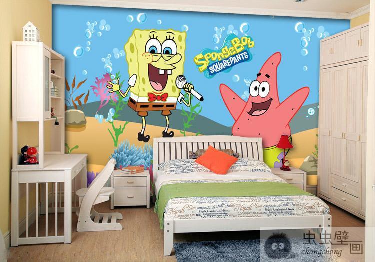 popular spongebob vinyl buy cheap spongebob vinyl lots cartoon snap giant spongebob wall painting