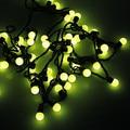 4 pcs Algodão Bola Fada Luz LED String Luzes De Natal Cristmas Decoração do Feriado Do Partido 5 M AC110V/220 V 50-leds Frete Grátis