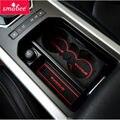 Frete grátis! 3 Cores Branco/Vermelho/Azul Portão pad slot Para Land Rover Evoque 8 Pçs/set Poeira esteiras de lojas de Fábrica