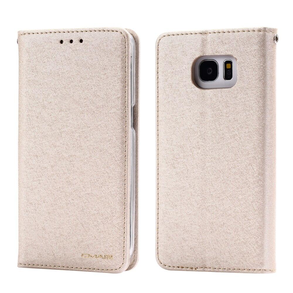 Coque samsung galaxy a5 2016 pas cher page 1 - Pour Samsung Galaxy Cas S7 Soie Portefeuille En Cuir Et De Couverture De Silicone Samsung Galaxy