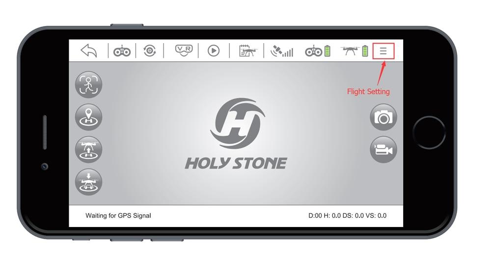 [EU USA JP Stock] Holy Stone HS100 GPS Selfie FPV Drone 500m Flight Range 2500mAh 1080P 7P Camera RC Quadcopter No Tax to EU 24