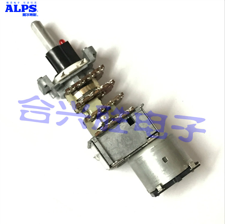 Japan ALPS FOR Motor Potentiometer 4 Joint B50K FOR Harman Caton AVR40 Amplifier Sound Volume Potentiometer 148 type double potentiometer b50k handle length 10mm